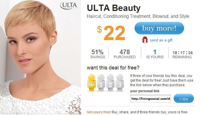 The Best Living Social Hair Cut At Ulta For 22 Norcal Coupon Gal Pictures