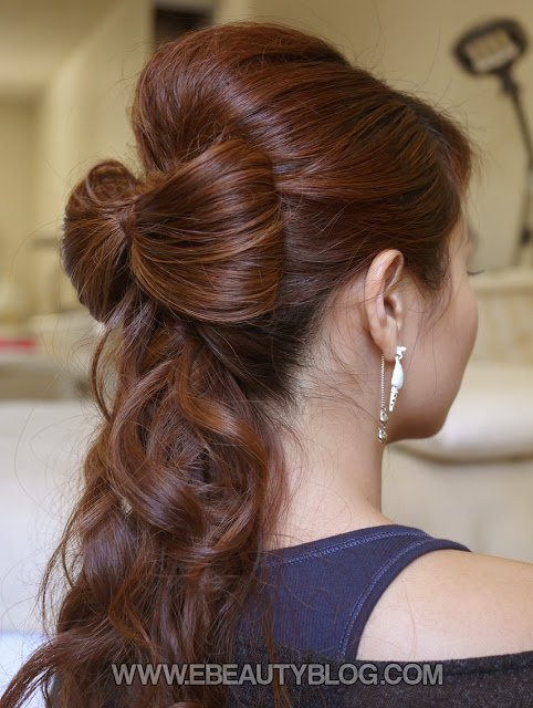 The Best Ebeautyblog Com Beautiful Wedding Hair Bow Tutorial Pictures