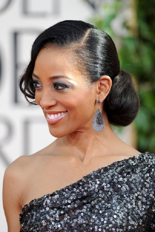 The Best African American Hairstyles Trends And Ideas Side Bun Pictures