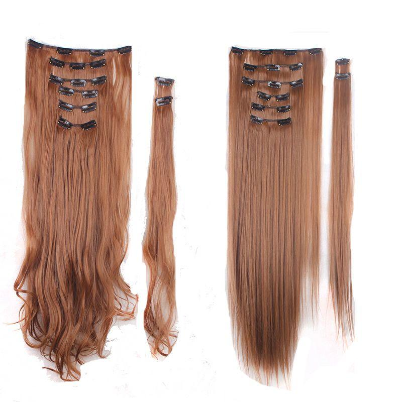 The Best Real As Remy Human Hair Long Clip In Hair Extensions Full Pictures