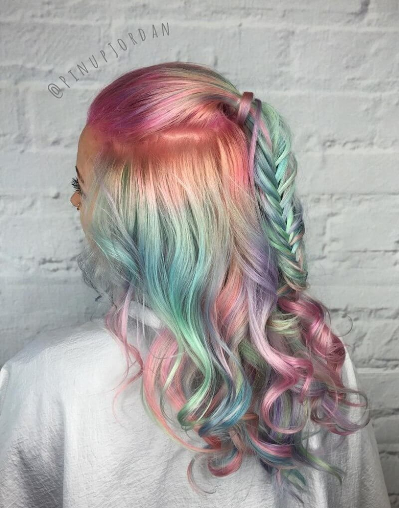 The Best 35 Cotton Candy Hair Styles That Look So Good You Ll Want Pictures