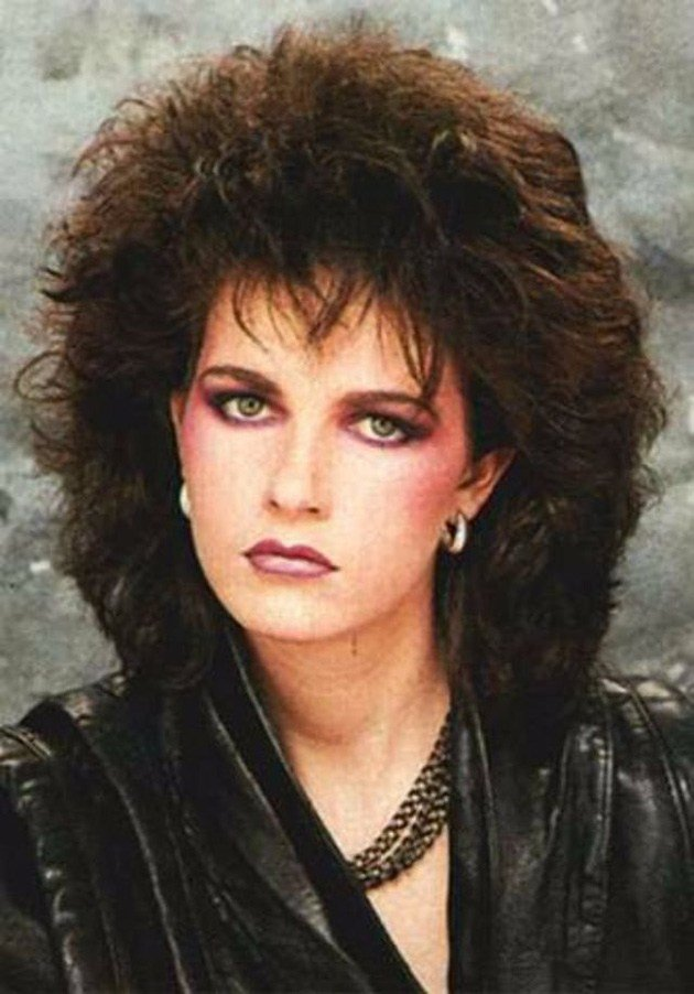 The Best 1980S The Period Of Women Rock Hairstyle Boom Pictures