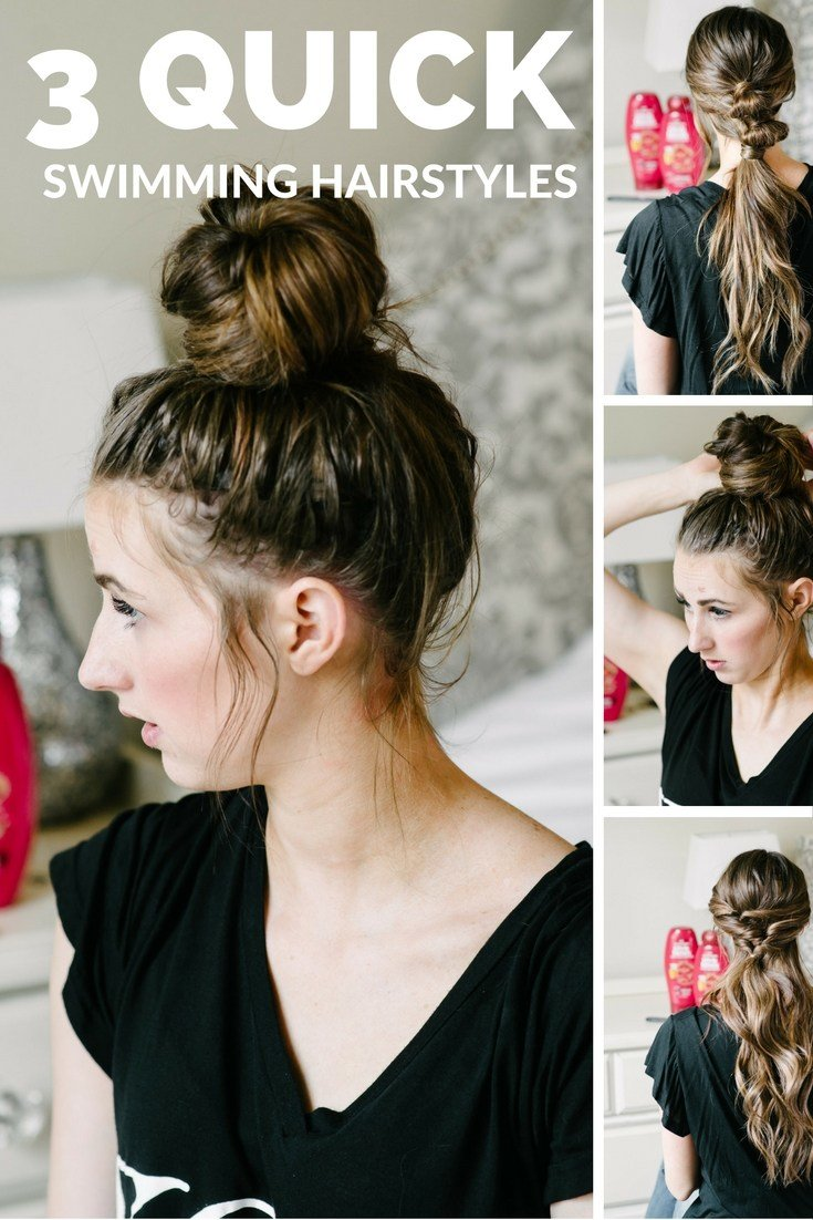 The Best 3 Summer Pool Hairstyles Beauty Dani Marie Blog Pictures