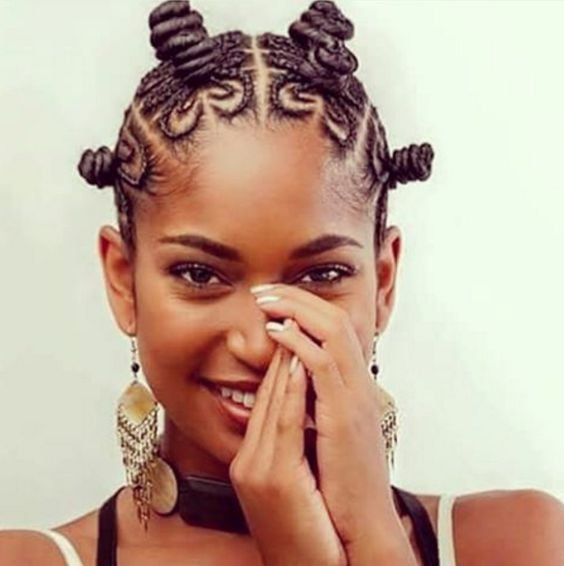 The Best Bantu Knots Hairstyle Inspiration Pictures