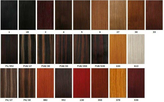 The Best Xpressions Braiding Hair Color Chart Xpression Braids Pictures