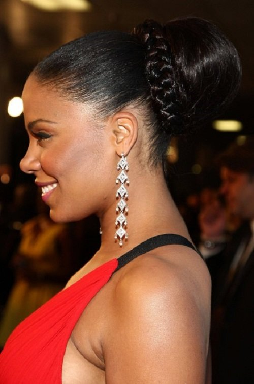 The Best African American Hairstyles Trends And Ideas Cute Bun Pictures