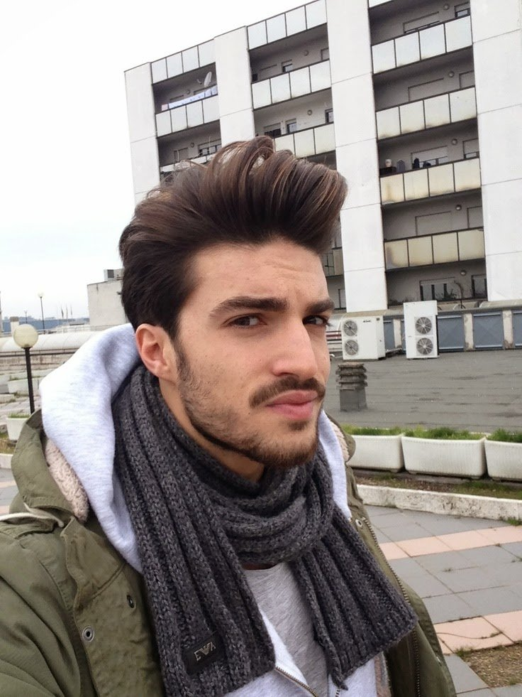 The Best Hairstyle Advice Italian Male Model Pictures