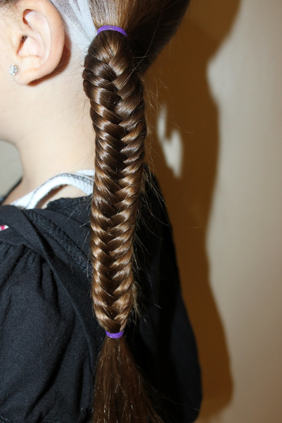 The Best Hairstyles For Girls The Wright Hair Fishtail Braids Pictures