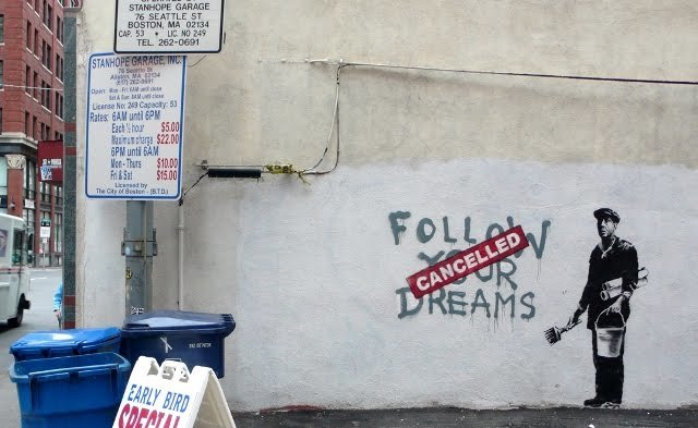 The Best Follow Your Dreams Banksy Pictures