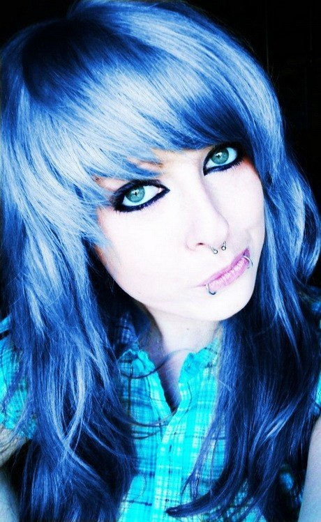 The Best Curly Emo Hairstyles Pictures