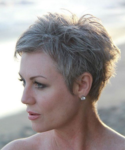 The Best Cool And Classy Short Edgy Haircuts 2019 For Older Women Pictures