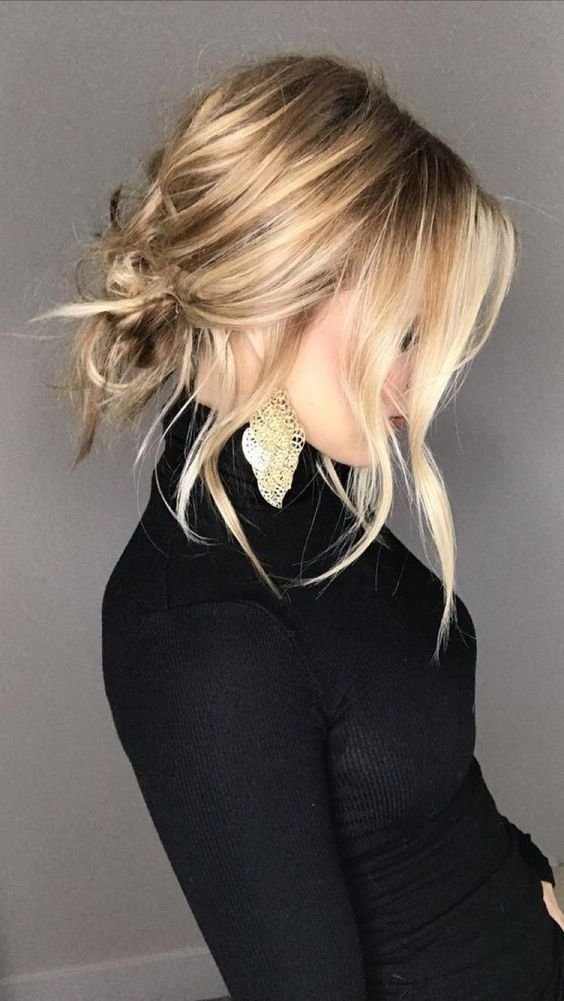 The Best How To Do 5 Stylish Pretty Glam Medium Hair Updos Trendsurvivor Pictures