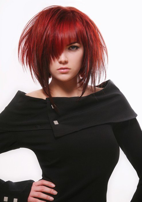The Best Red And Black Hair Pictures