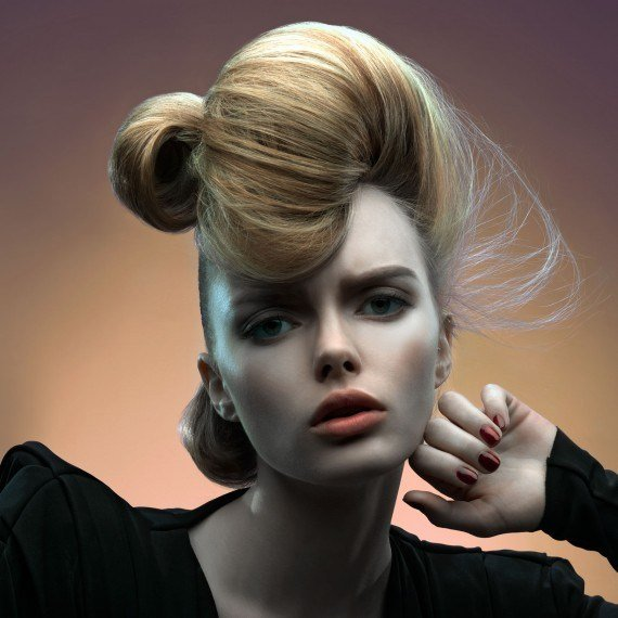 The Best Updo Hairstyles Dramatic Updo Hairstyle Woman And Home Pictures