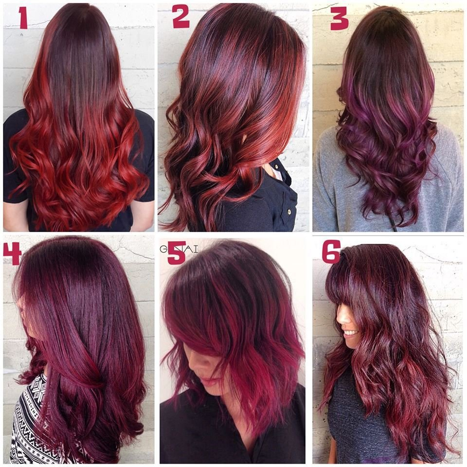 The Best Long Burgundy Red Hair Colors Ideas Pictures