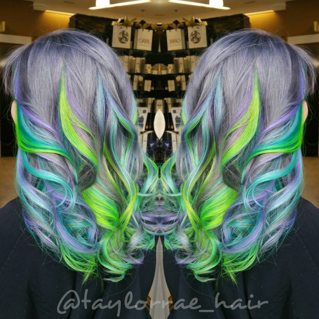 The Best Hair In The Green Hair Category Pictures