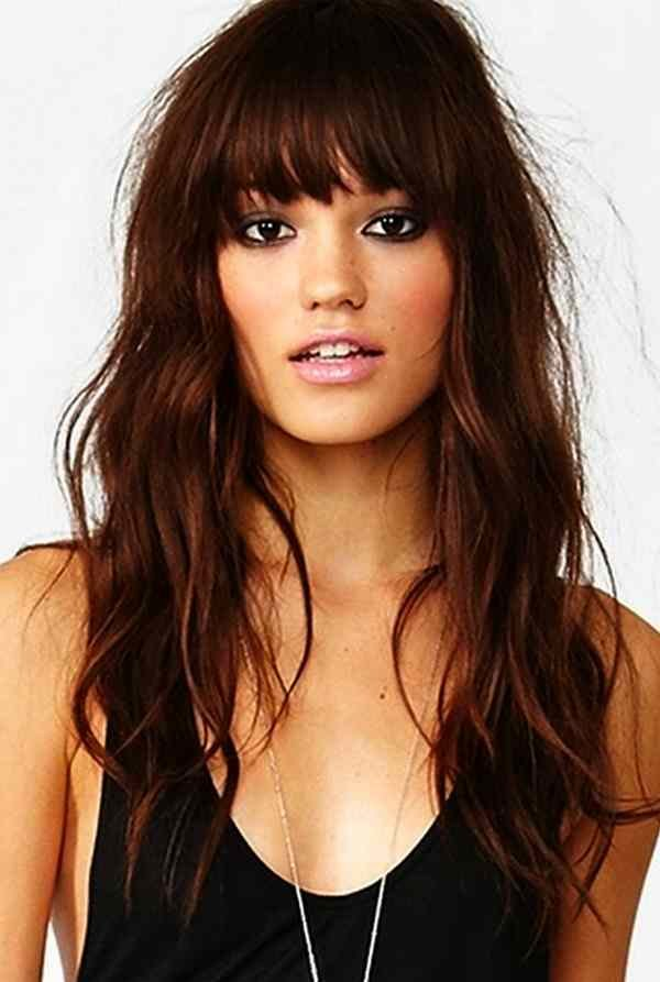The Best 57 Of The Most Beautiful Long Hairstyles With Bangs Highpe Pictures