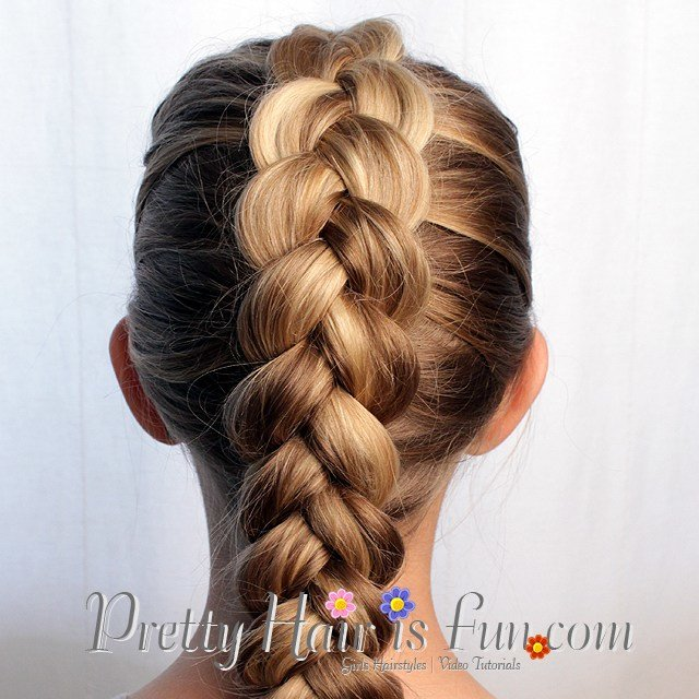 The Best Pretty Hair Is Fun Easy Pulled Dutch Braid – Pretty Hair Is Fun – Girls Hairstyle Tutorials Pictures