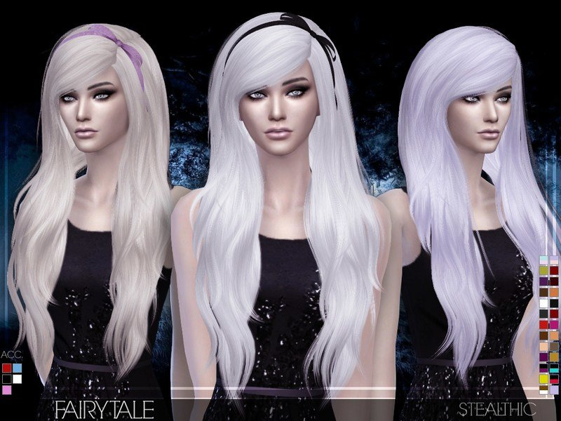 The Best Stealthic Fairytale Female Hair Pictures