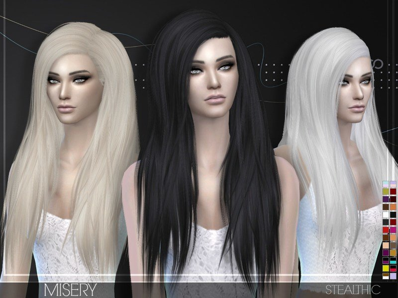 The Best Stealthic Misery Female Hair Pictures