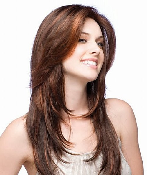 The Best Long Hairstyles For Round Faces The Xerxes Pictures