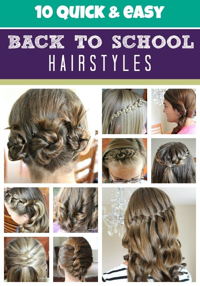 The Best Hairstyles For School Girls The Xerxes Pictures