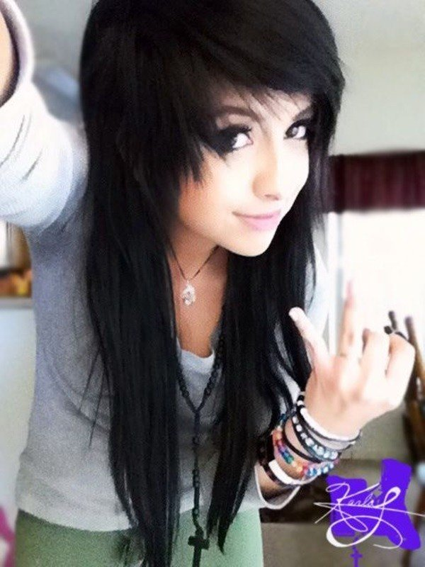 The Best Emo Hairstyles For Girls The Xerxes Pictures