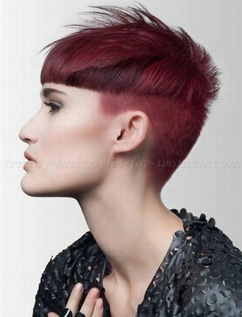 The Best Undercut Hairstyle For Women S The Xerxes Pictures