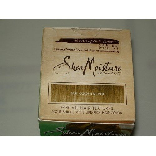 The Best Shea Moisture Certified Organic Dark Golden Blonde Hair Color System Pictures