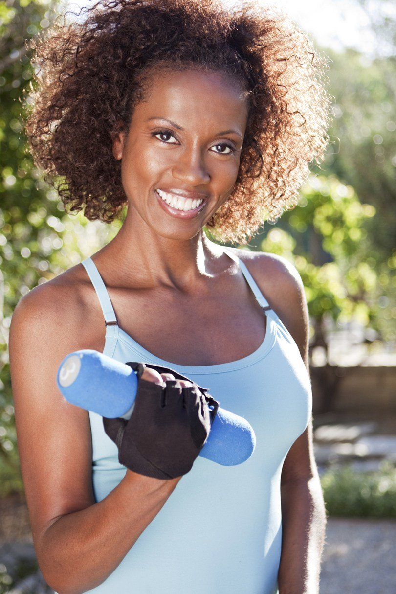 The Best Here Are Some Workout Hairstyles For Black Women Black Women Exercise Pictures