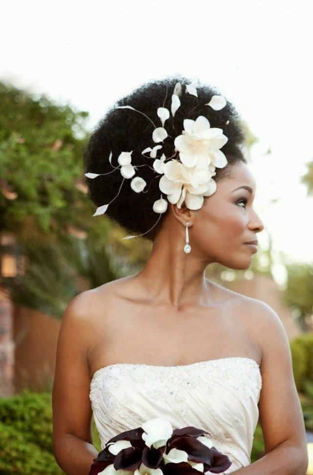The Best 21 Natural Hair Styles For Your Wedding Day Munaluchi Bride Pictures