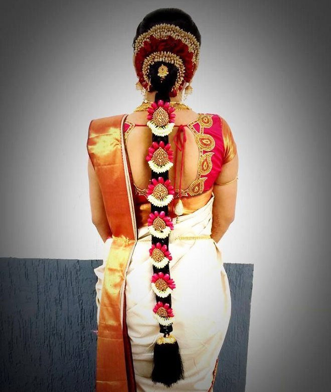 The Best Best Indian Wedding Hairstyles For Brides 2016 2017 Pictures