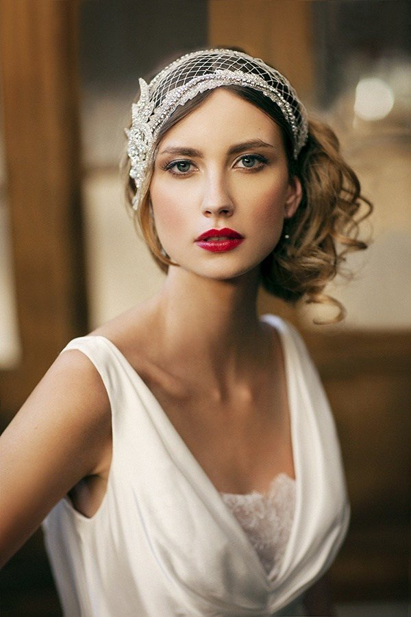 The Best Wedding Hairstyles 1920S Behairstyles Com Pictures