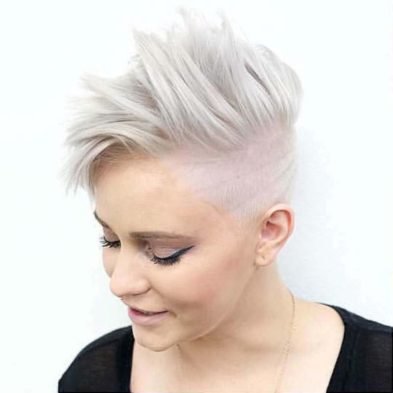 The Best Short Hairstyles White Hair Fashion And Women Pictures