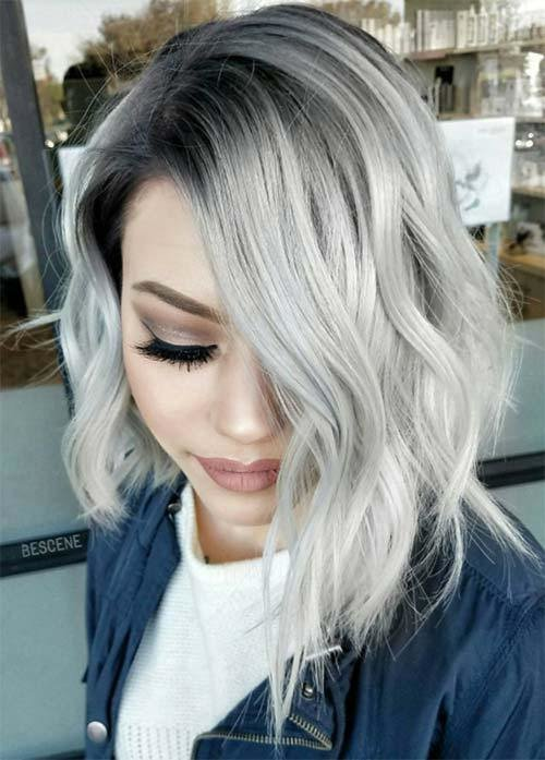The Best 85 Silver Hair Color Ideas And Tips For Dyeing Pictures