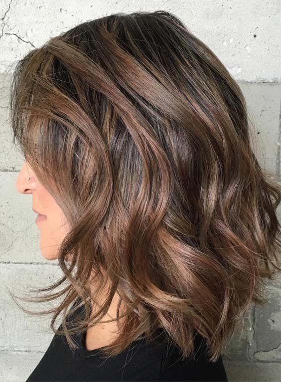 The Best 50 Best Medium Length Hairstyles For Thick Hair 2018 Pictures