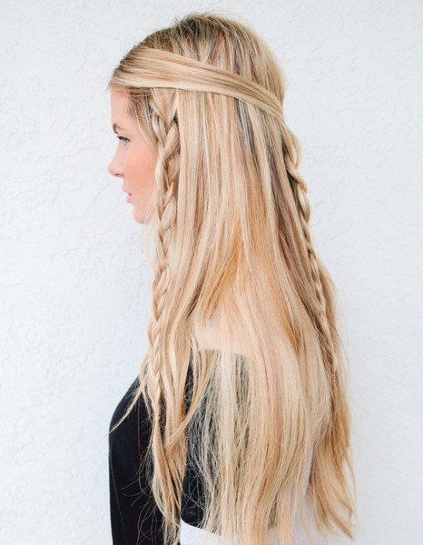 The Best Hippie Braids Easy Back To School Hairstyles To Let You Pictures