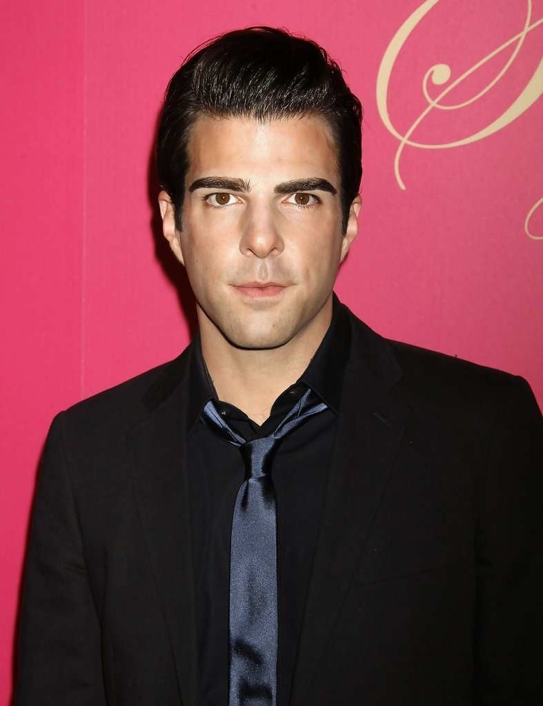 The Best Zachary Quinto Narrow Solid Tie Zachary Quinto Looks Pictures