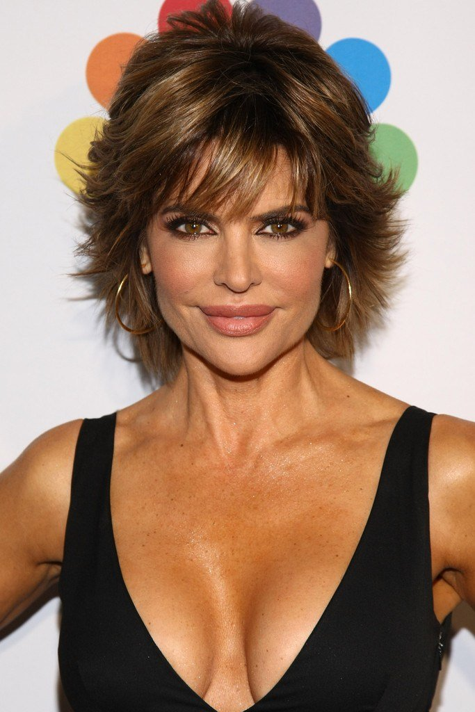 The Best Lisa Rinna Layered Razor Cut Lisa Rinna Short Hairstyles Pictures