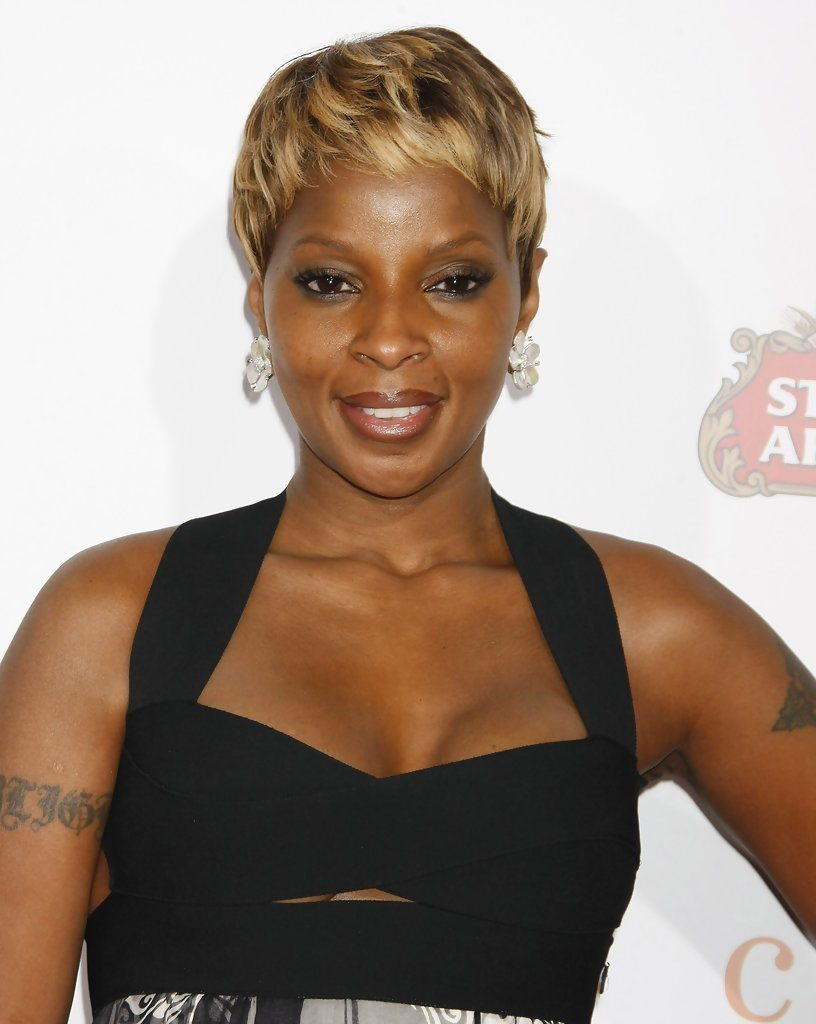 The Best Mary J Blige Short Straight Cut Mary J Blige Short Pictures