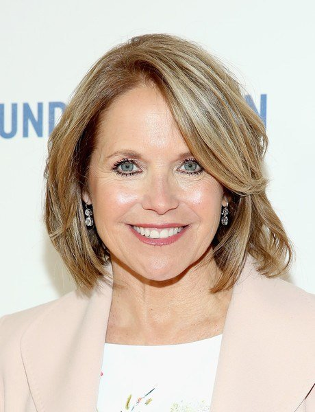 The Best Katie Couric B O B Short Hairstyles Lookbook Stylebistro Pictures