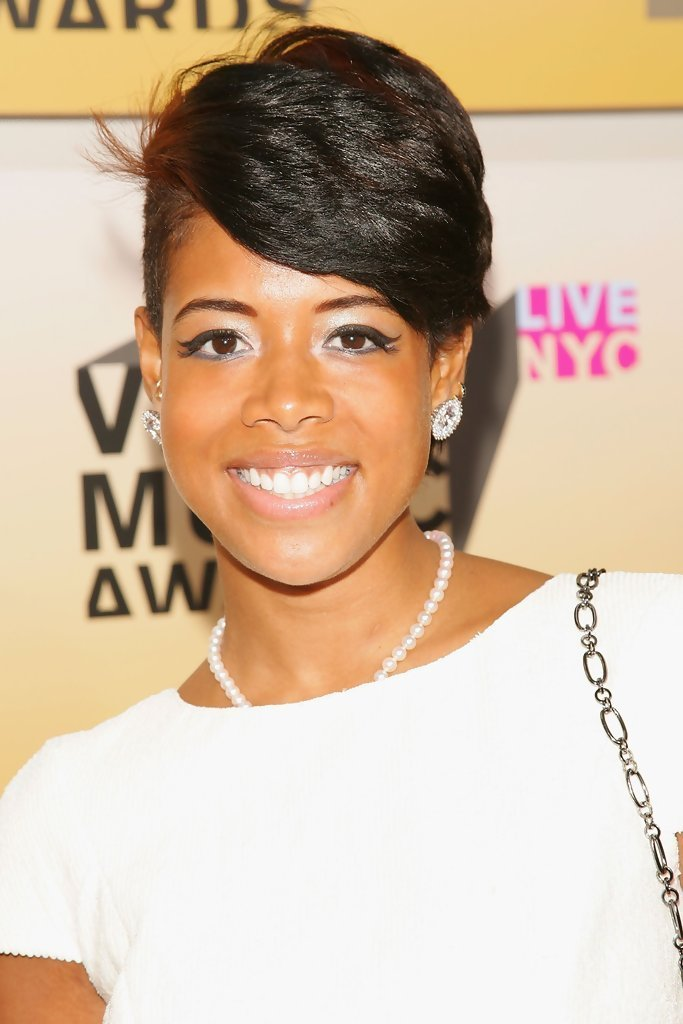 The Best More Pics Of Kelis Short Side Part 1 Of 17 Short Hairstyles Lookbook Stylebistro Pictures