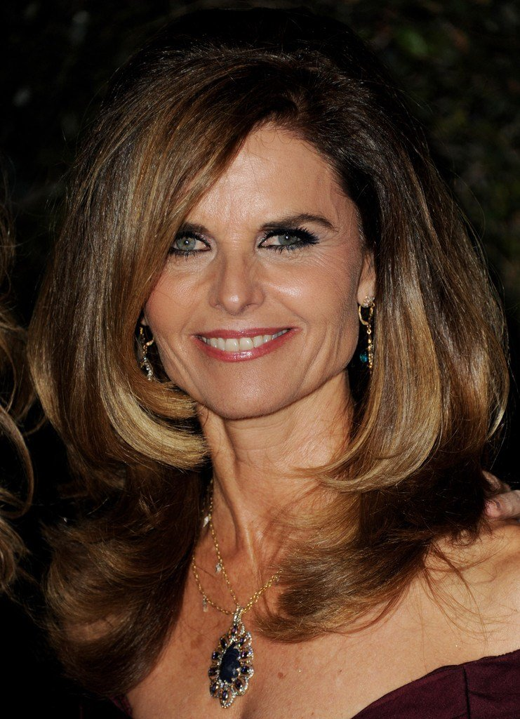 The Best Maria Shriver S Ombre Color Haute Hairstyles For Women Pictures