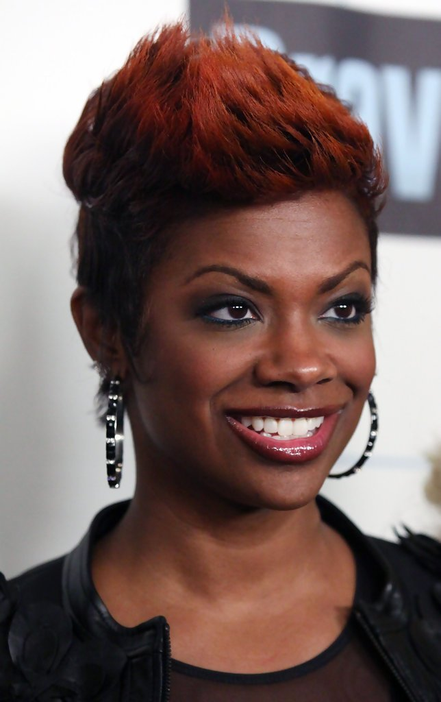 The Best Kandi Burruss Spiked Hair Kandi Burruss Looks Stylebistro Pictures
