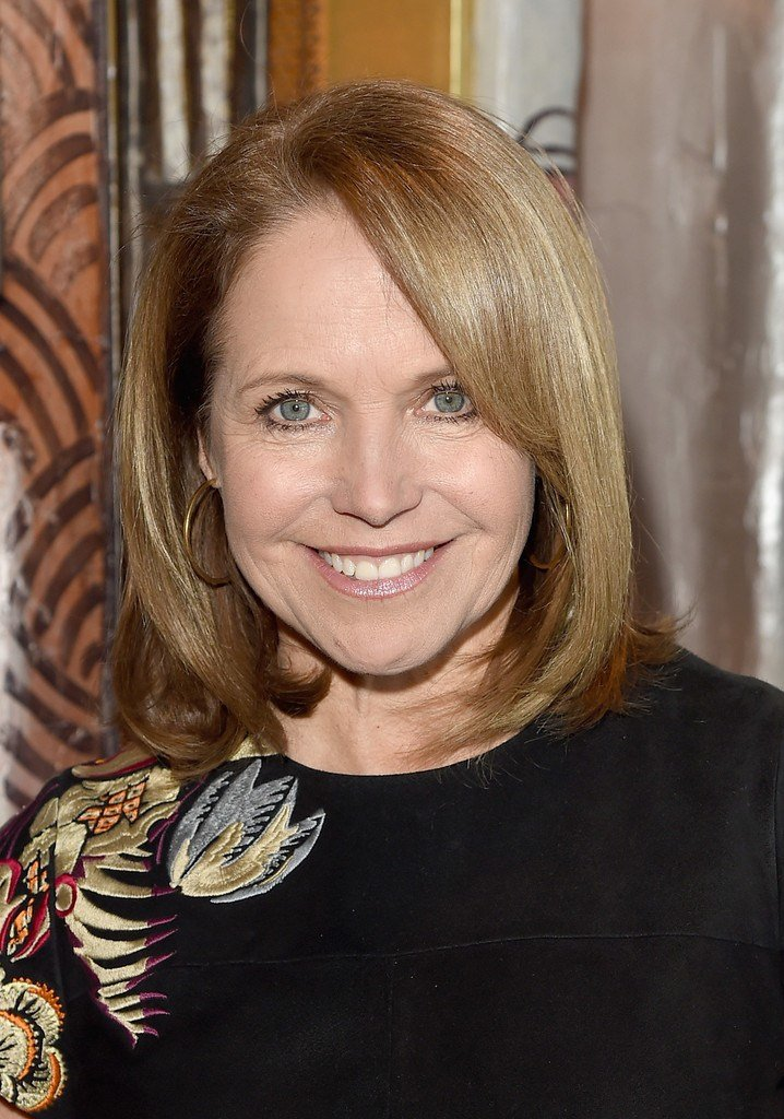 The Best Katie Couric Mid Length Bob Shoulder Length Hairstyles Pictures