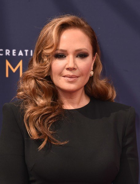 The Best Leah Remini Long Curls Hair Lookbook Stylebistro Pictures