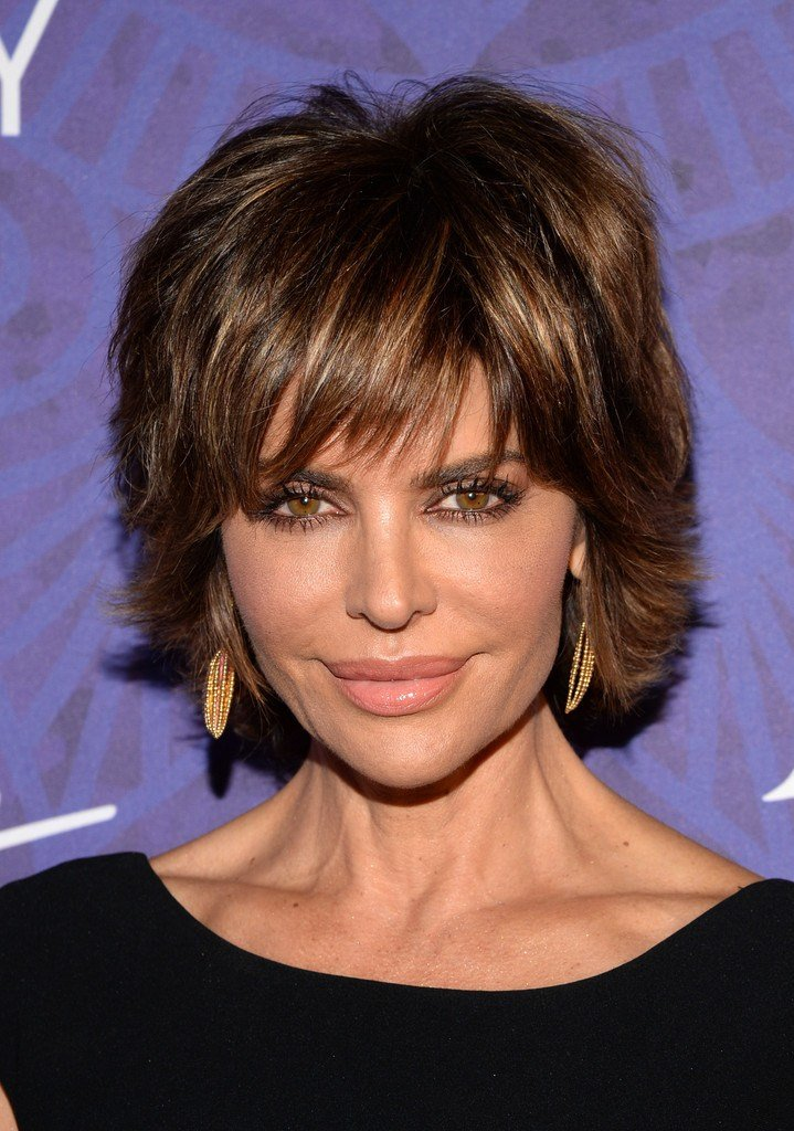 The Best Lisa Rinna Layered Razor Cut Lisa Rinna Hair Looks Pictures