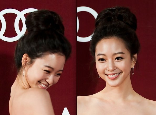 The Best Leslie Han S Beehive Bun Asian Prom Hairstyle Ideas Pictures