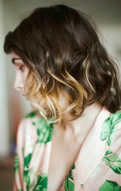 The Best 40 Short Ombre Hair Cuts For Women – Hottest Ombre Hair Pictures