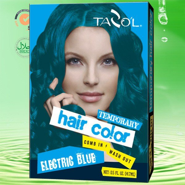 The Best China Tazol Temporary Hair Color 7 5G 2 Bright Blue Pictures